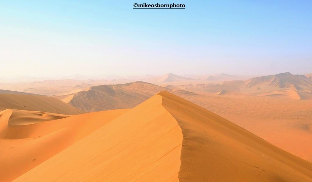 Dunes in Namib Desert, Namibia