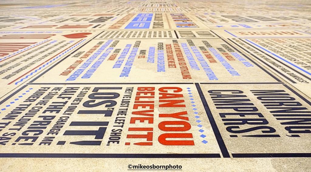 Blackpool's Comedy Carpet