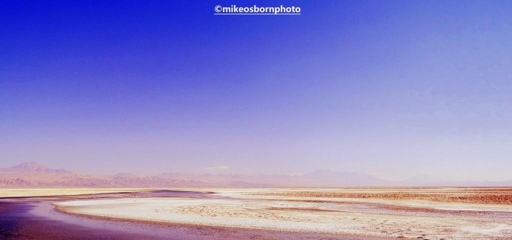 Salt pans, Atacama Desert, Chile