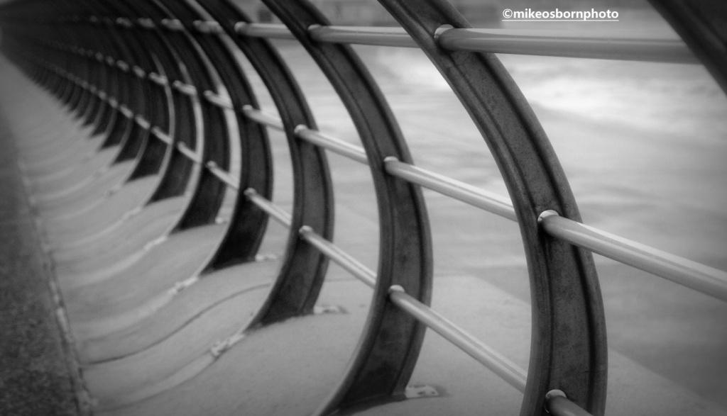 Railings at sea front, Blackpool