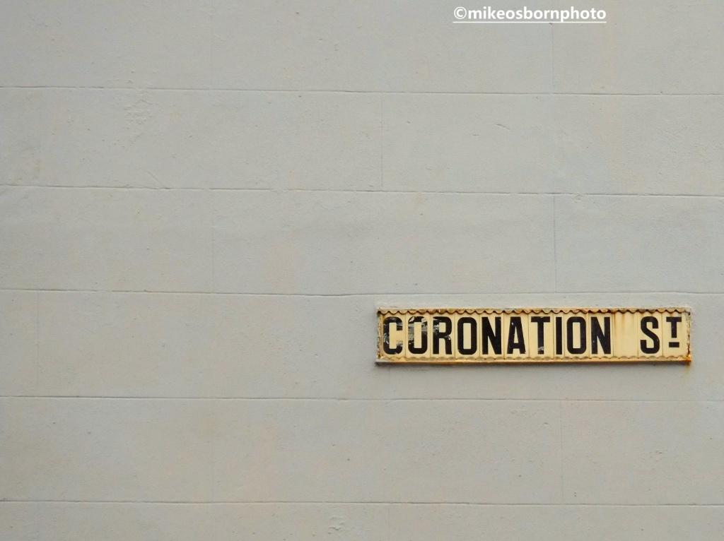 Coronation Street sign, Blackpool