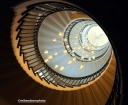Heal's circular staircase, London