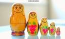 Soviet era nest of dolls