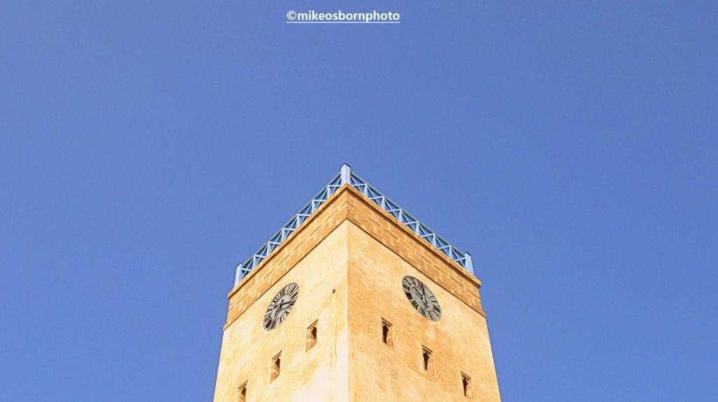 Tower at Essaouria, Morocco