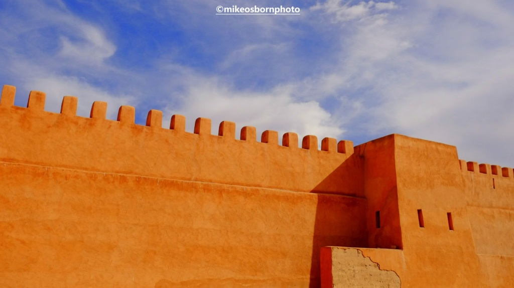 Fortifications at Tiznit, Morocco