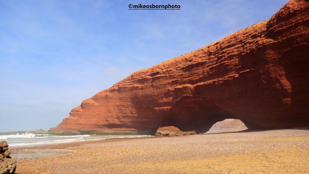 Archway at Legzira Beach, Morocco