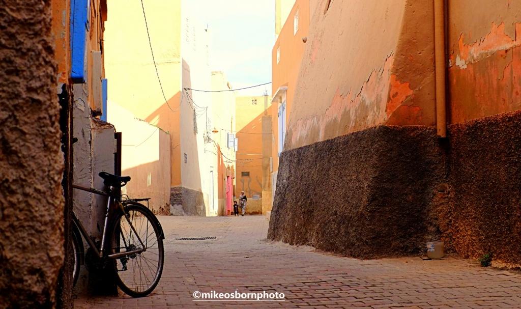 Back street, Tiznit, Morocco