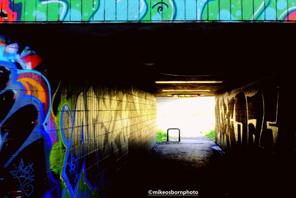 Underpass at Mancunian Way, Manchester
