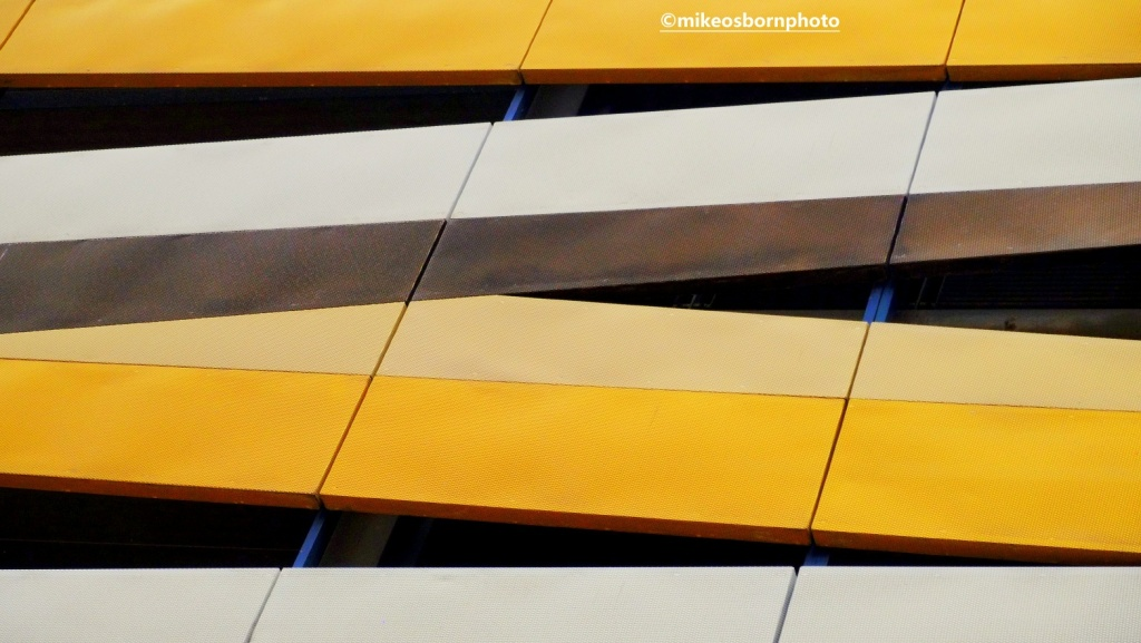 Detail of New Bailey car park, Manchester