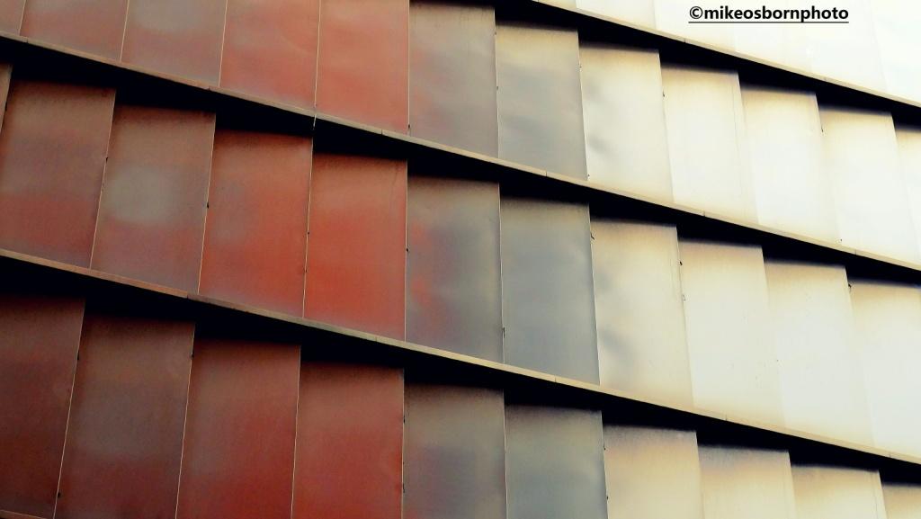 Car park facade at Spinningfields, Manchester