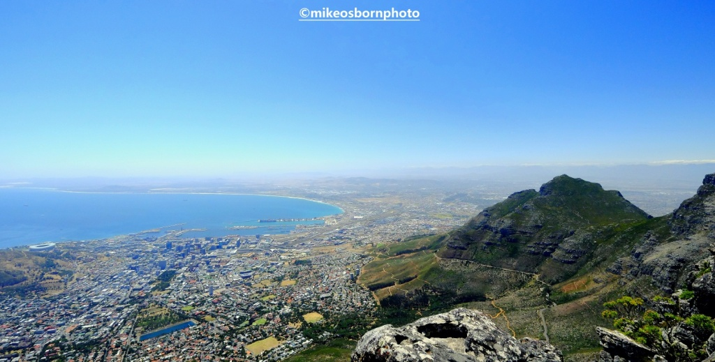 View of Cape Town from Table Mountain, South Africa