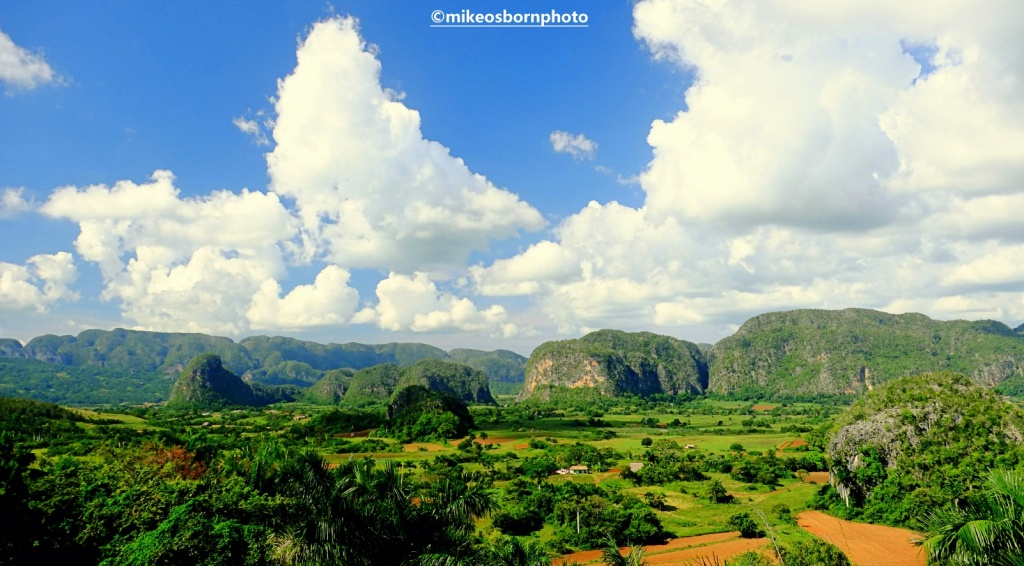 View of Vinales valley, Cuba