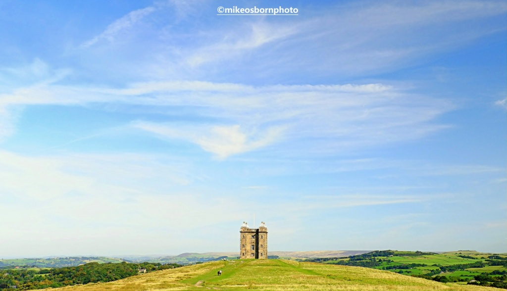 View of The Cage at Lyme Park in Cheshire