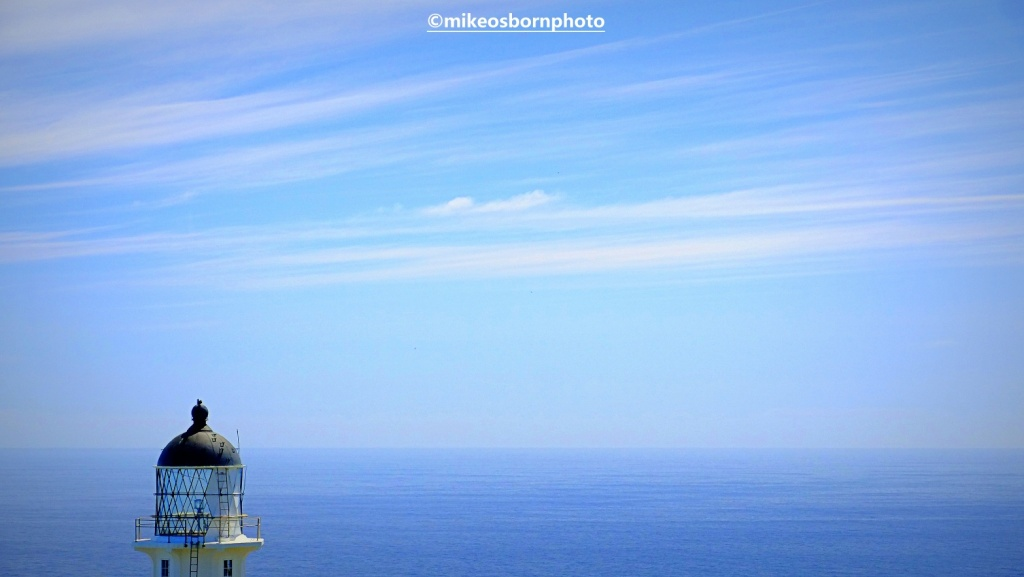 Cape Reinga lighthouse and Pacific Ocean, New Zealand