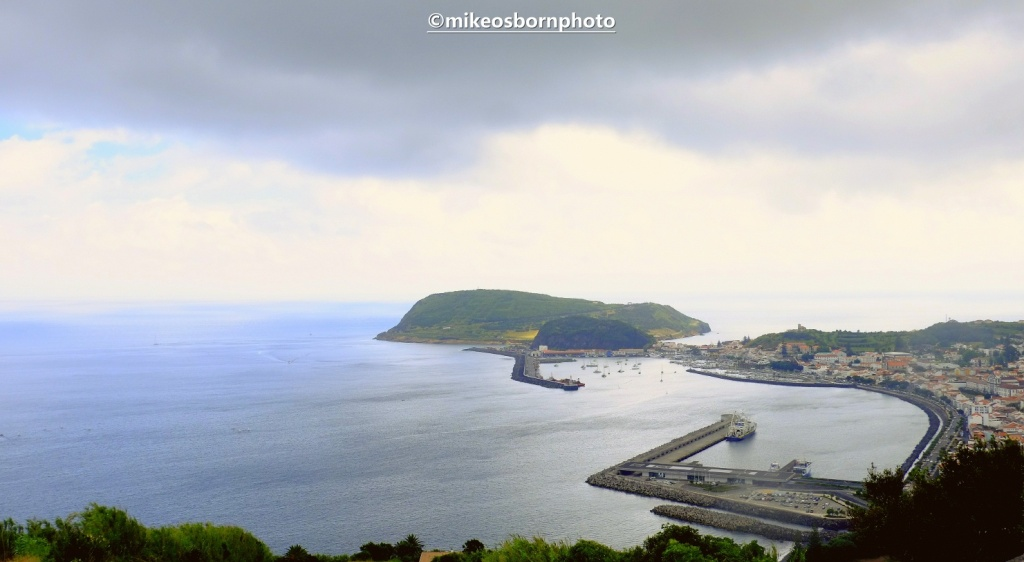 View over Horta, Faial, Azores Isands