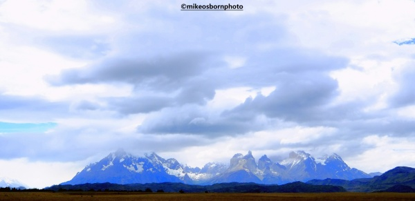 The Torres del Paine mountains of southern Chile