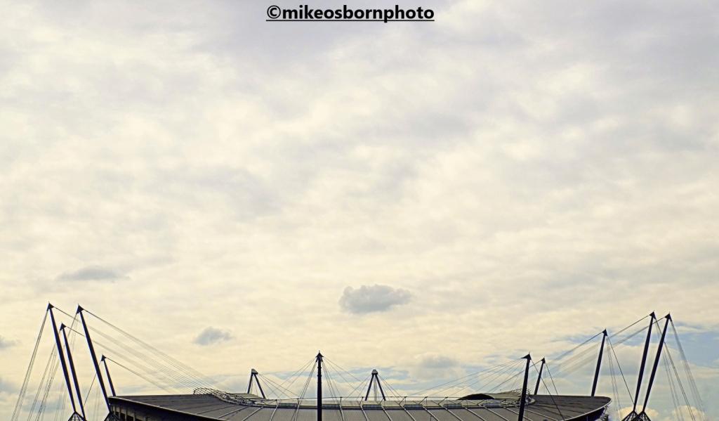 Roof of Etihad Stadium, Manchester