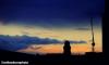 Manchester's Kimpton Clock Tower at sundown