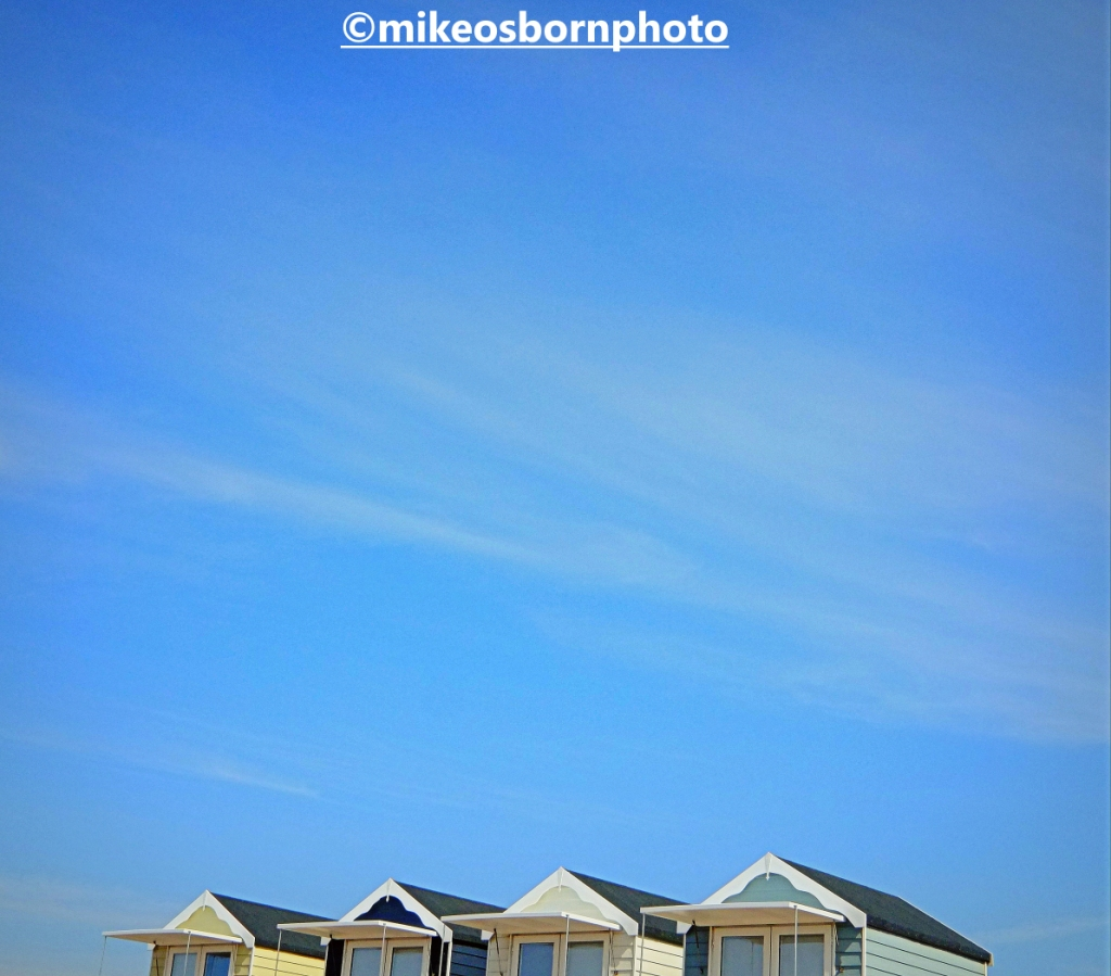 Beach huts at St Anne's on the sea, Lancashire