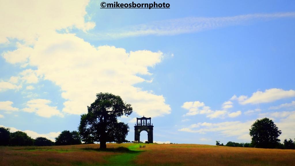 Hadrian's Arch on Shugborough estate, Staffordshire