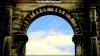 Summer sky arch