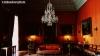 Scarlet drawing room at Shugborough Hall