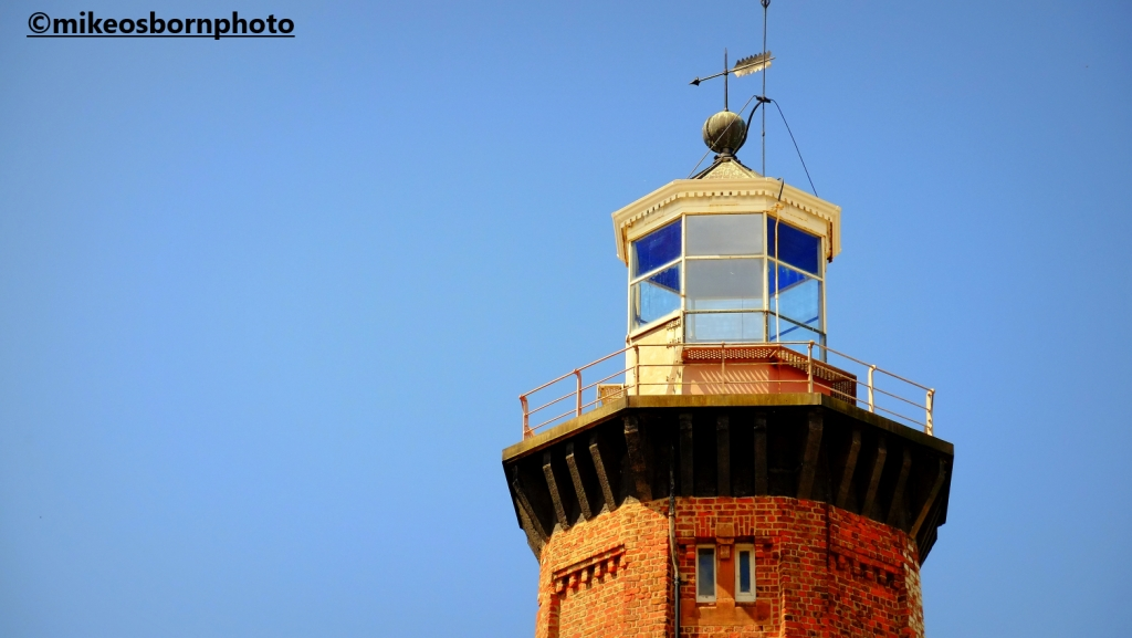The old lighthouse at Hoylake in the Wirral