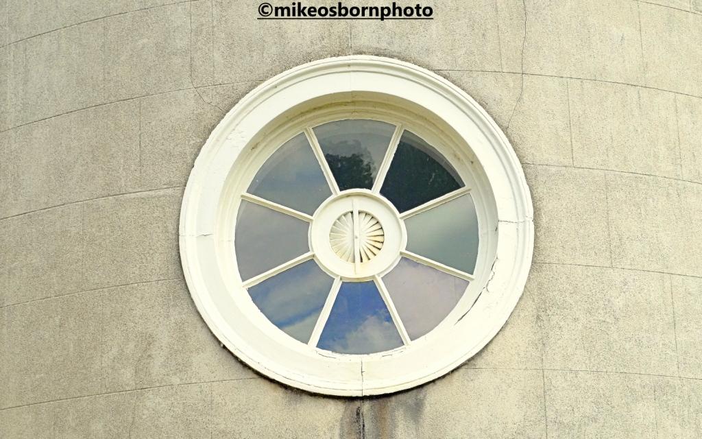Circular window at Shugborough Hall