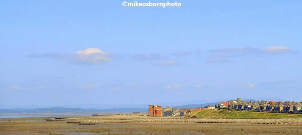 A view of Morecambe taken from neighbouring Heysham