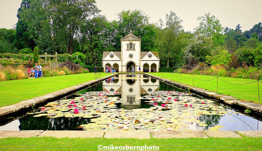 The Pin Mill at Bodnant Garden, Wales