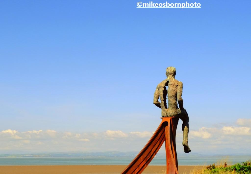 Part of the Ship sculpture at Heysham, Lancashire
