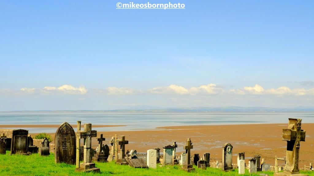 St Peter's Church cemetery at Heysham village, Lancashire